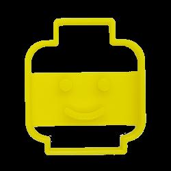 Foremka w kształcie głowy LEGO